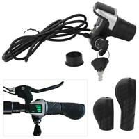 48V Speed Control Throttle Grip with LCD Display for Electric Bike Bicycle Parts