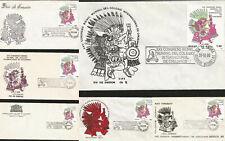 J) 1980 MEXICO, XXII INTERNATIONAL BIENNIAL CONGRESS INTERNATIONAL COLLEGE OF SU