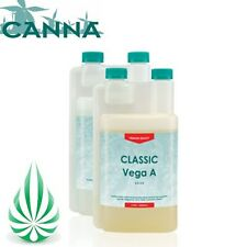 Hydroponics CANNA Classic Vega A + B 1L 1Litre Grow Nutrient For Indoor Grower