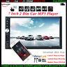 7'' 2 DIN Écran Tactile Autoradio Stéréo Bluetooth USB/TF/AUX/FM/à Distance MP5
