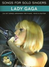 Book - Lady Gaga Songs For Solo Singers BK & CD