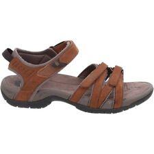 Teva Damen Sandale W TIRRA Leather rust Outdoorsandale Trekkingsandale braun