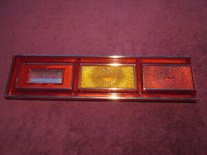 1980 Chevrolet Citation Tail Light Lens, NOS, OEM, Red, Amber, Clear, Chrome
