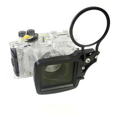 Underwater M67 Wet-Lens adapter mount for/G7 X Mark II Camera Canon WP-DC55 case