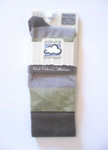 World's Softest Socks - Knit Pickin' Collection - Rugby Crew - Natural - NEW