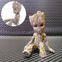 6CM Baby Groot Figure Flowerpot Guardians of The Galaxy Pen Pot Toy Gifts New UK