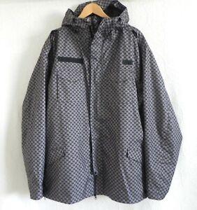 DC Snowboard/Ski Jacket Cap/Hooded Mix Protection 5000Ehotek Monogram Size 2XL
