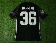 MANCHESTER UNITED #36 DARMIAN 2017-2018 PLAYER ISSUE FOOTBALL JERSEY AWAY ADIDAS