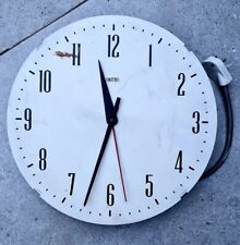 COLLECTABLE VINTAGE S.SMITH & Co SMITHS ELECTRIC WALL CLOCK MADE IN AUSTRALIA