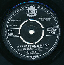 "ELVIS PRESLEY 45 TOURS 7"" UK ROCK-A-HULA BABY"