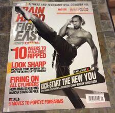 6/12 TRAIN HARD FIGHT EASY MAGAZINE - BEN BENSON HENDERSON UFC -MMA - US Edition