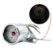 Retro Motorcycle Tachometer 0-13000 Tach RPM Gauge Rev Counter Universal Meter