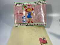 "Vintage STRAWBERRY SHORTCAKE Vinyl Placemat It's All Good Pink TCFC 18"" Set Of 2"
