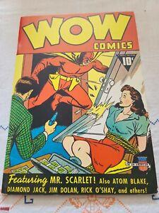 WOW Comics 1 VG+ Don Maris Reprint 1974