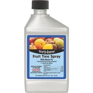 Fruit Tree Insecticide Fungicide Spray with Neem Py Miticide 1 PT Makes 16 Gals