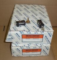 AML27ABK2BC01AA NEW In Box Microswitch Honeywell  Key Lock Switch Selector
