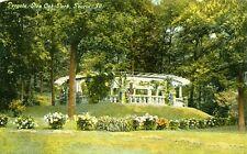Peoria,IL. A 1909 view of  the Pergola in Glen Oak Park
