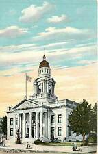 Ohio, OH, Bucyrus, Crawford County Court House 1912 Postcard