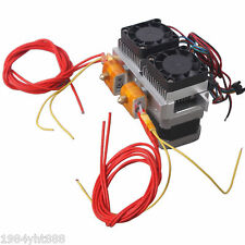 0.4mm Dual Head Nozzle Extruder MK8 Extruder Makerbo Upgrade for 3D Printer