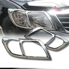 Parte Delantera Toyota Hilux 2011-2016 Cromo Cabeza Luz Lámpara cubre Adornos Surround M206