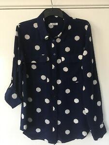 BN MARCS 100% Silk  Blouse/Shirt   Size 12