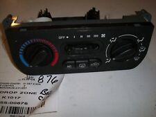 Saturn S Series AC/Heater Control  2000-2002