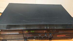 Piastra di registrazione a cassetta doppia Sony Mod. TC_W320