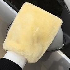 Auto Reinigungshandschuh Elastisch Kaliber Weichen Plüsch Waschhandschuhe Beige