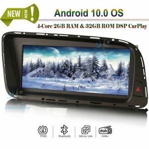 Android 10.0 Bluetooth Head Unit WIFI DAB Radio GPS SAT NAVI Stereo for Audi Q5