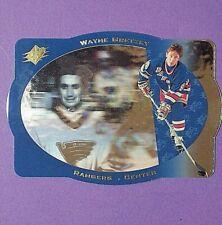 WAYNE GRETZKY 1996/97 UD SPx PROMO #39  New York Rangers  St.L. Blues Hart  HOF