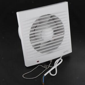 220V 6'' inch Bath Ceiling Wall Mount Ventilation Fan Air Vent Exhaust Fan
