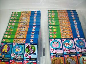 Burger King 1999 Pokemon Master Trainer Collection Complete Uncut Set 1-20  New