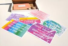 24 positive birth affirmations on 12 a6 cards | hypnobirthing | pregnancy |