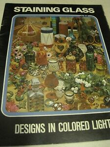 Book STAINING GLASS Designs In Colored Light Titan 30 page 1971
