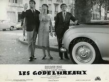 BERNADETTE LAFONT JEAN-CLAUDE BRIALY LES GODELUREAUX 1961 *PHOTO ORIGINAL #7