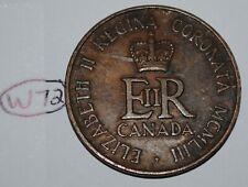 Canada 1953 Queen Elizabeth II Coronation Medal - Token Lot #W72