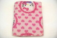 Hello Kitty Hearts Baby Toddler Blanket Can Be Personalized 28x44