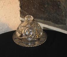 Antique dome butter dish Marriage  Wonderful big Stars very  ornate design
