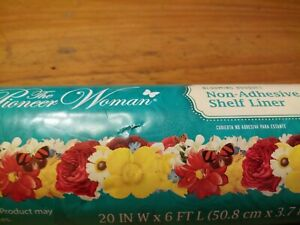 Pioneer Woman Non Adhesive Shelf Liner