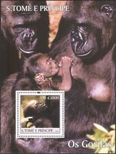 Sao Tome 2004 Gorillas/Apes/Nature/Wildlife/Conservation 1v m/s (n12630)