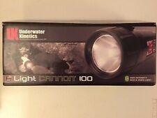 Underwater Kinetics Light Cannon 100 Professional HID NEW flashlight scuba dive