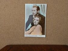 Shirley Ross & Frank Forest Art photo Real Photograph Postcard xc2