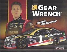 "2017 JAMIE MCMURRAY ""GEAR WRENCH"" #1 MONSTER ENERGY NASCAR POSTCARD"