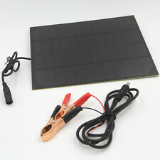 Waterproof 5.5W 12V Solar Panel Trickle Boat Car Battery Charger