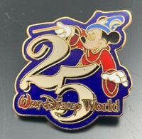 Disney Pin 25th Anniversary Sorcerer Mickey Mouse Disney Pin 64 VERY RARE