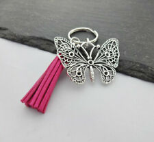Butterfly Gift, Butterfly Keyring,Keychain, Bag Charm, Butterfly, Tassel Keyring