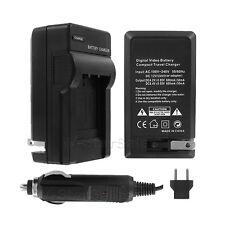 COCHE para NIKON COOLPIX S5200 Kit de cargador de batería DE RED