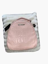 Steve Madden Logo Medium Backpack Blush