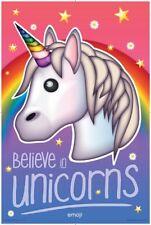 emoji - Believe In Unicorns POSTER 61x91cm NEW cute girls bedroom decoration