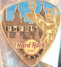 Hard Rock Cafe BERLIN 2012 POSTCARD Series Guitar Pick PIN Post Card HRC #68313